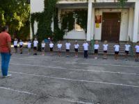 Физкультурные занятия на свежем воздухе