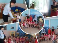 Сотрудники Росгвардии в гостях у дошколят