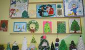 """Выставка ёлочек """"Новогодняя красавица"""""""