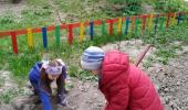 Первые весенние хлопоты на огороде