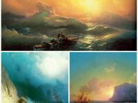 Знакомство с творчеством И.К.Айвазовского